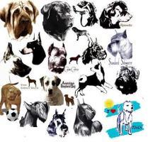 Working Dog Art by Madeline Wilson