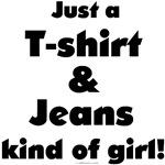 T-shirt & Jeans Girl