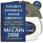 McCain: Everything - Plus A Smokin' Hot 1st Lady