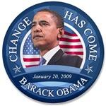 Change Has Come 1-20-09 Shirts, Mugs, Caps, & More