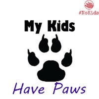 My Kids Have Paws - Light