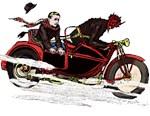 Biker Krampus