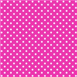 Pink With White Polka-dots
