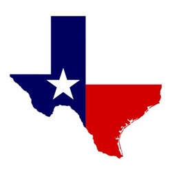 Get-Texas Flag Outline