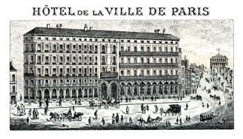 1880 Hotel de la Ville, Paris