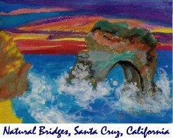 Natural Bridges, Santa Cruz, California
