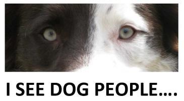 I SEE DOG PEOPLE