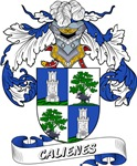 Calienes Coat of Arms, Family Crest