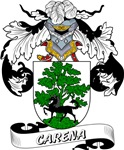 Carena Coat of Arms, Family Crest