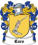 Caro Coat of Arms, Family Crest