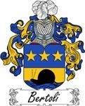 Bertoli Family Crest, Coat of Arms