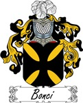 Bonci Family Crest, Coat of Arms