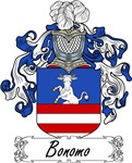 Bonomo Family Crest, Coat of Arms