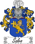 Salvo Family Crest, Coat of Arms
