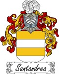 Santandrea Family Crest, Coat of Arms