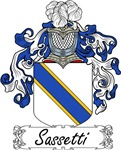 Sassetti Family Crest, Coat of Arms