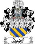 Savioli Family Crest, Coat of Arms