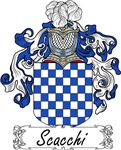 Scacchi Family Crest, Coat of Arms