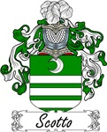 Scotto Family Crest, Coat of Arms