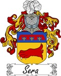 Sera Family Crest, Coat of Arms