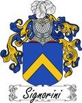 Signorini Family Crest, Coat of Arms