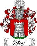 Soleri Family Crest, Coat of Arms
