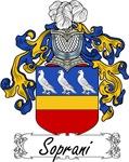 Soprani Family Crest, Coat of Arms