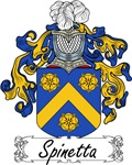 Spinetta Family Crest, Coat of Arms