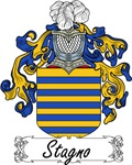 Stagno Family Crest, Coat of Arms