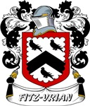 Fitz-Vrian Coat of Arms, Family Crest