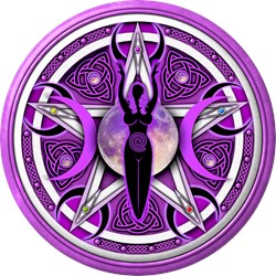 Pentacle of the Purple Goddess