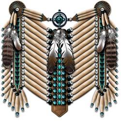 Native American Breastplate 2