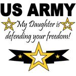 My Daughter is defending your freedom