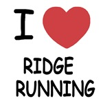 I heart ridge running