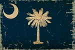 South Carolina State Flag VINTAGE