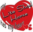 my Lite Shod Horse has my heart