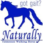 Tennessee Walking Horse Got Gait Naturally