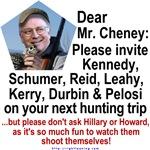Dear Mr. Cheney