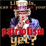 Question Liberals' Patriotism?