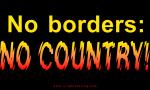 No Borders, no country