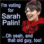 I'm Voting for Sarah