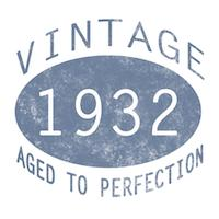 1932 Aged To Perfection