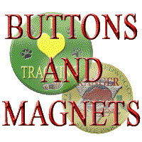 Animal Tracks and Nature Buttons, Pins, & Magnets