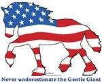 Patriotic Horses