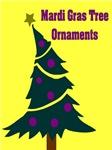 Mardi Gras Tree Ornaments