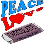 Peace Love Chocolate