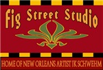 Fig Street Studio Sign