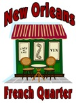 New Orleans French Quarter Cafe