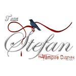 Team Stefan The Vampire Diaries Raven Ribbon2