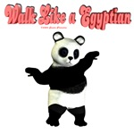 Walk Like a Egyptian Panda